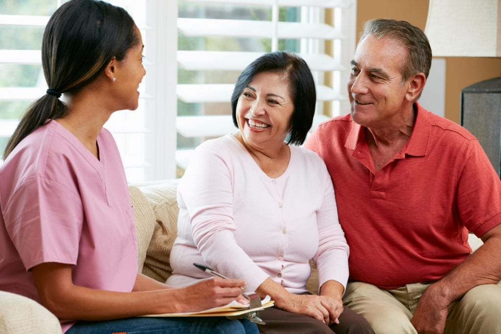 Home care employment in Los Angeles and Ventura County